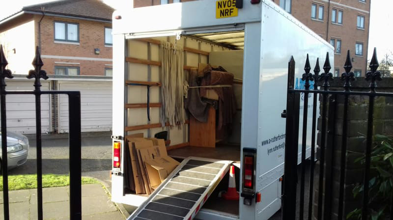 rutherford removals luton van